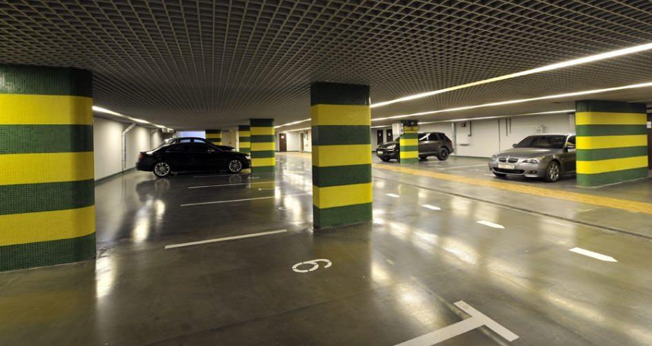 Подземный паркинг, паркинг, парковка, авто, машина, ЮСК
